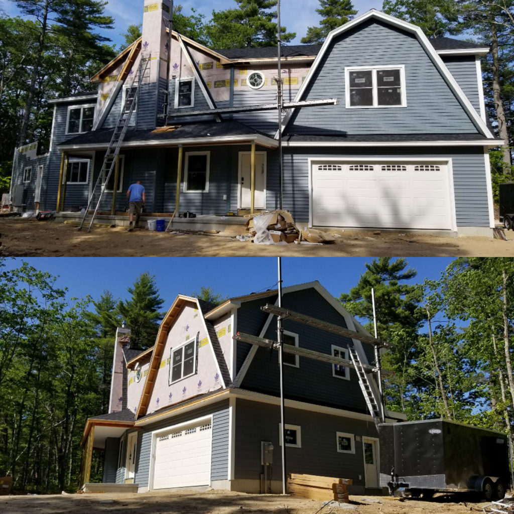 KHH Contracting Exterior Finish