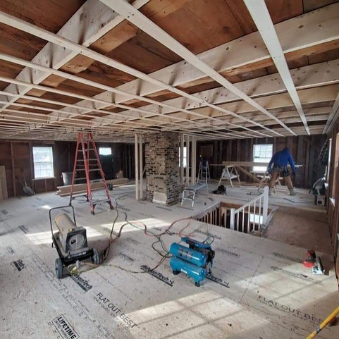 KHH Contracting Full Remodel Interior
